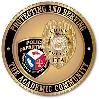 University of Central Arkansas Police Department badge
