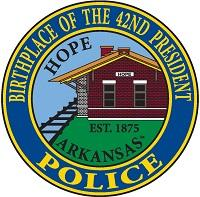 Hope Police Department badge
